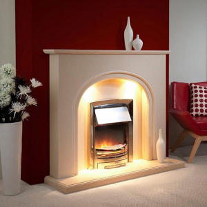 Worcestershire Marble Fireplace